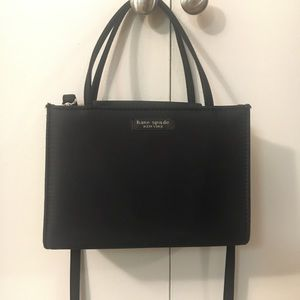Kate spade black crossbody handbag